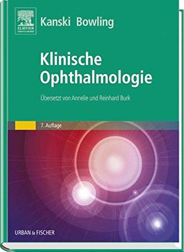 Klinische Ophthalmologie: Jack J Kanski