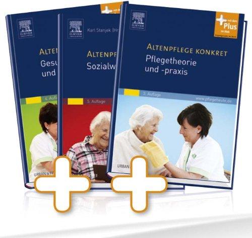 9783437258893: Altenpflege konkret Gesamtpaket: Pflegetheorie: 3. Auflage 2013 / Sozialwissenschaften: 5. Auflage 2013, plus web / Gesundheitslehre: 4. Auflage 2012, plus web