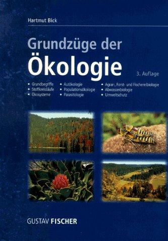 9783437259104: Grundzüge der Ökologie (German Edition)