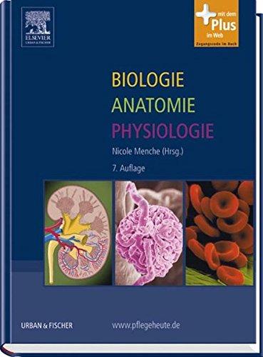 9783437268021: Biologie Anatomie Physiologie: mit www.pflegeheute.de - Zugang