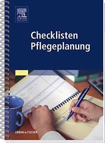 Checklisten Pflegeplanung: Anna-Luise Jordan