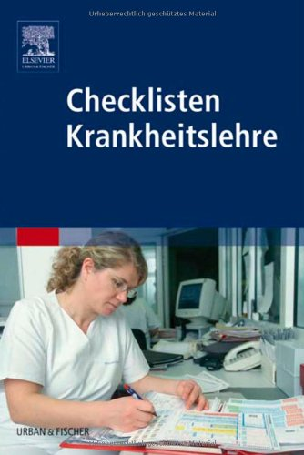 9783437282805: Checklisten Krankheitslehre