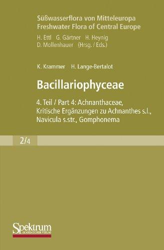 9783437306648: Süßwasserflora von Mitteleuropa, Bd. 02/4: Bacillariophyceae: Teil 4: Achnanthaceae, Kritische Ergänzungen zu Achnanthes s.l., Navicula s.str., ... Ergänzter Nachdruck, 2004 (German Edition)