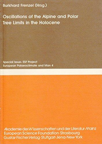 Oscillations of the Alpine and Polar Tree: H.C.Burckhard Frenzel (Editor),