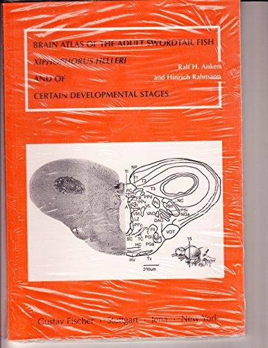 9783437307539: Brain Atlas of the Adult Swordtail Fish: Xiphophorus Helleri and of Certain Developmental Stages