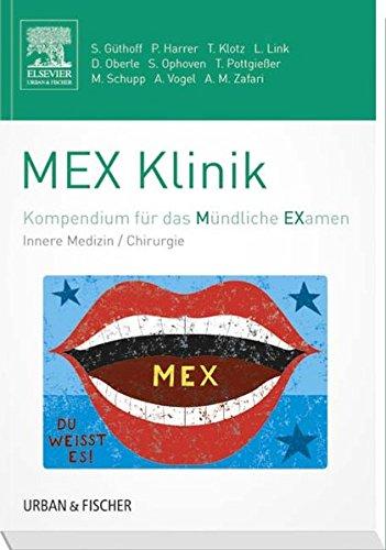 9783437410253: MEX Klinik: Kompendium für das Mündliche Examen
