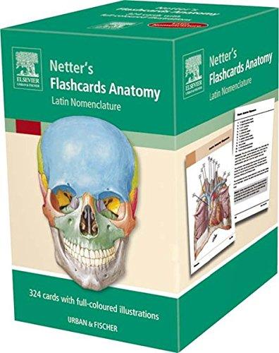 9783437417610 Flashcards Anatomy Latin Nomenclature 1e Netter