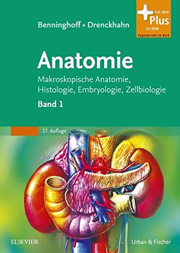 9783437423420: Benninghoff, A: Anatomie 1