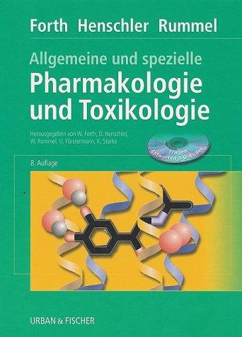 9783437425202: Allgemeine und spezielle Pharmakologie und Toxikologie.