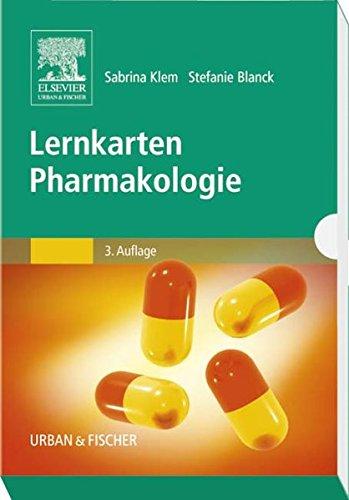 9783437436321: Lernkarten Pharmakologie