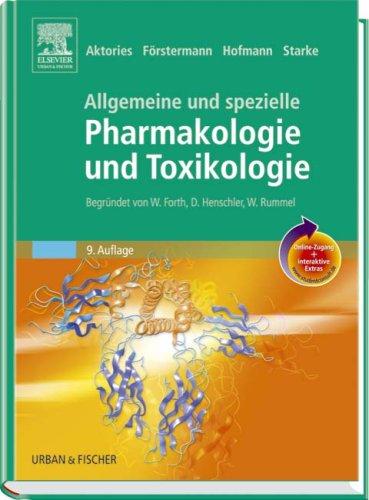 9783437444906: Allgemeine und spezielle Pharmakologie und Toxikologie