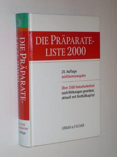 9783437557309: Präparate-Liste 2000