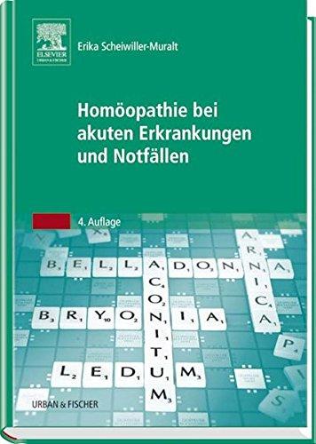9783437559136: Hom�opathie bei akuten Erkrankungen und Notf�llen