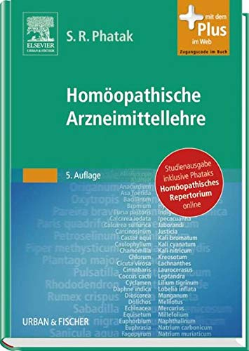 9783437568633: Homöopathische Arzneimittellehre mit Repertorium Studienausgabe
