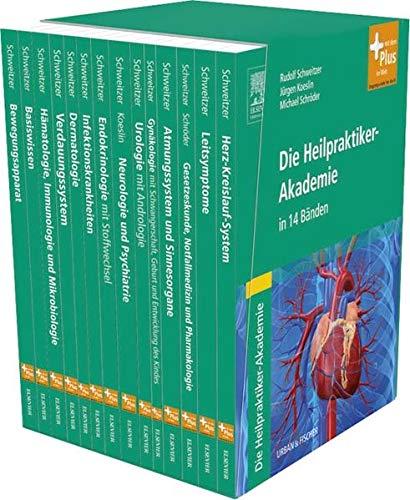 9783437580055: Die Heilpraktiker-Akademie in 14 Bänden