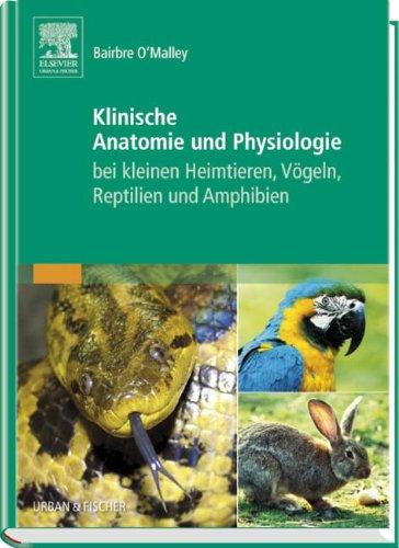 9783437582608: Klinische Anatomie und Physiologie bei kleinen Heimtieren, Vögeln, Reptilien und Amphibien