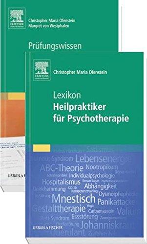Prüfungsvorbereitungs-Set Heilpraktiker für Psychotherapie / 2 Bände: ...