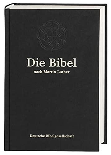 9783438011015: Bibelausgaben, Die Bibel nach der Übersetzung Martin Luthers, ohne Apokryphen, neue Rechtschreibung, schwarz (Nr.1101)