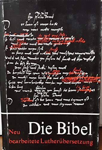 Antiqua- Taschenbibel. Rote Ausgabe. ( ohne Apokryphen).: Luther, Martin