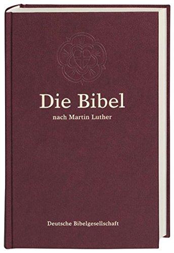 9783438015204: Die Bibel nach Martin Luther: Standardformat mit Apokryphen