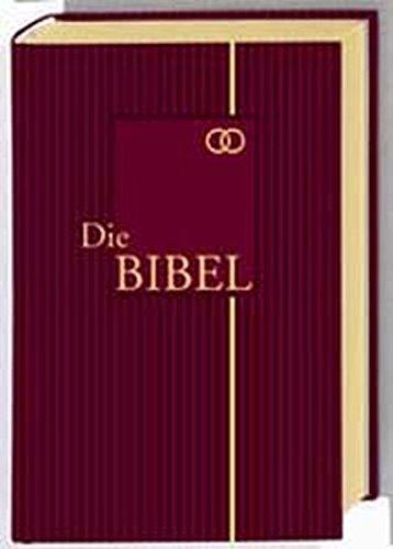 9783438015358: Bibelausgaben, Die Bibel, nach der Übersetzung Martin Luthers, mit Apokryphen, Ledereinband rot m. Goldprägung, Hochzeitsbibel (Nr.1535