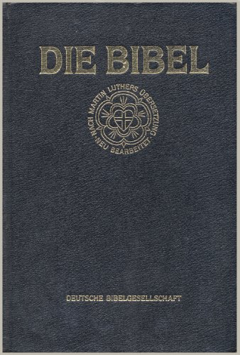 9783438017215: Bibelausgaben, Großdruckbibel mit Apokryphen, schwarz (Nr.1721)