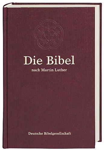 9783438017369: Die Bibel nach der Übersetzung Martin Luthers: Großdruckausgabe ohne Apokryphen