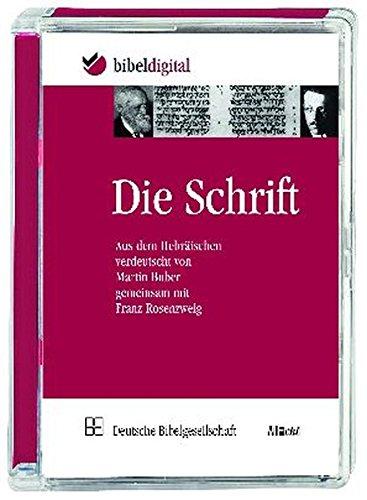 9783438021625: Die Schrift [import allemand]
