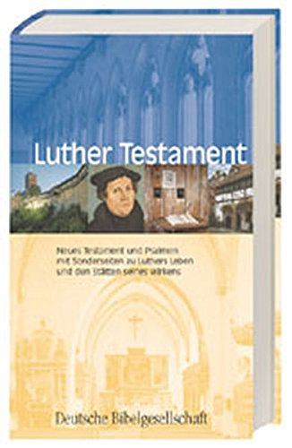 9783438023032: Luther-Testament.