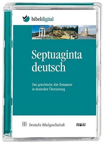 9783438027191: Septuaginta Deutsch.: Das griechische Alte Testament in deutscher Übersetzung
