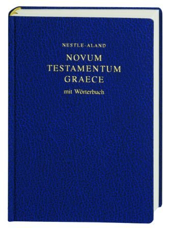 Novum Testamentum Graece-FL (Greek and German Edition): Eberhard Nestle (Editor),