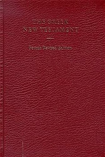 9783438051103: The Greek New Testament, 4th Revised Edition