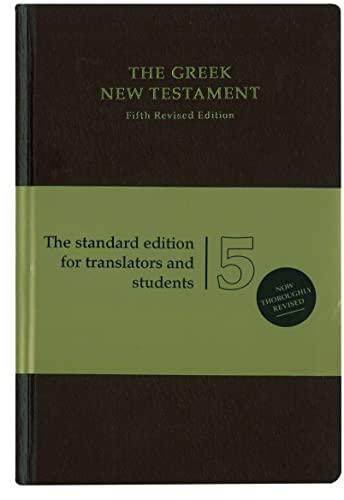 9783438051165: The Greek New Testament