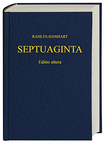 9783438051196: Septuaginta-2nd Revised Edition (Greek Edition)