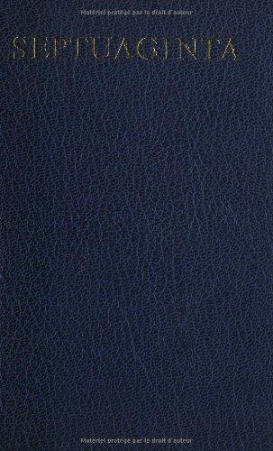 9783438051219: Septuaginta (Greek Edition)