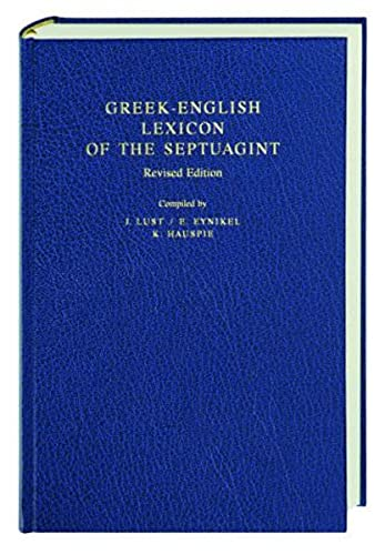 9783438051240: Greek-English Lexicon of the Septuagint