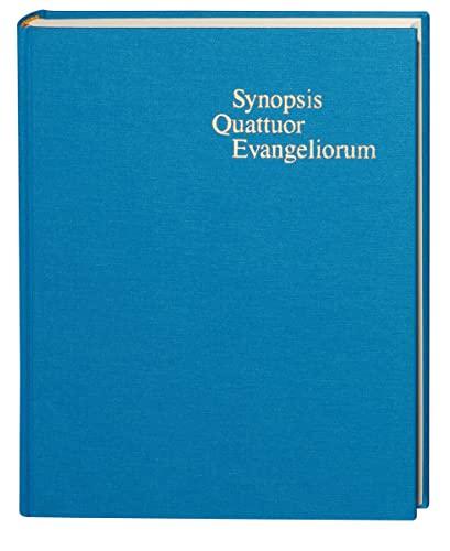 Synopsis Quattuor Evangeliorum: Kurt Aland