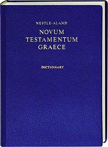 9783438051394: Nestle-Aland Novum Testamentum Graece mit griechisch-englischem Wörterbuch