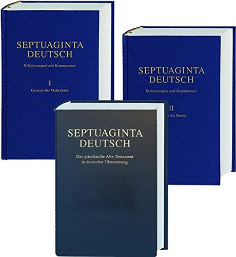 9783438051455: Septuaginta Deutsch - Studienpaket