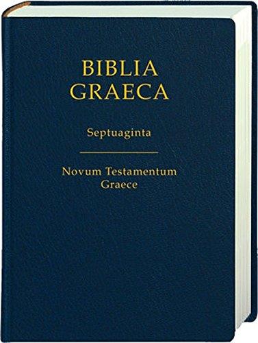 9783438051523: Biblia Graeca-fl: Septuaginta: Novum Testamentum Graece (Greek Edition)