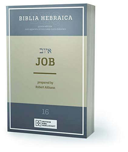 9783438052766: Biblia Hebraica Quinta (BHQ). Gesamtwerk zur Fortsetzung / Job