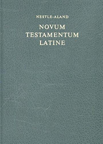 9783438053008: Novum Testamentum Latine (Latin Edition)