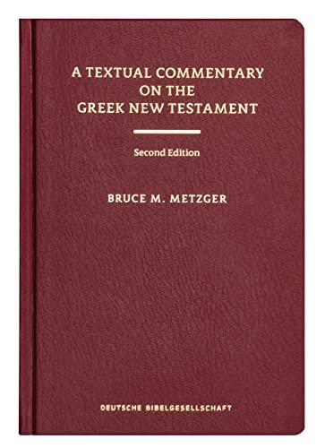 9783438060105: Textual Commentary on the Greek New Testament