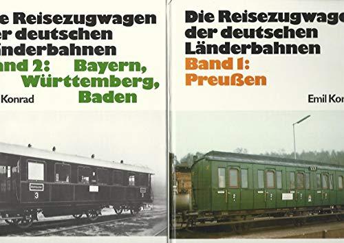 Die Reisezugwagen der deutschen Länderbahnen I. Preußen [Hardcover]