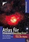 9783440058671: Atlas für Himmelsbeobachter. Der Sternatlas zum Himmelsjahr. Mit 50 Sternkarten des gesamten Himmels