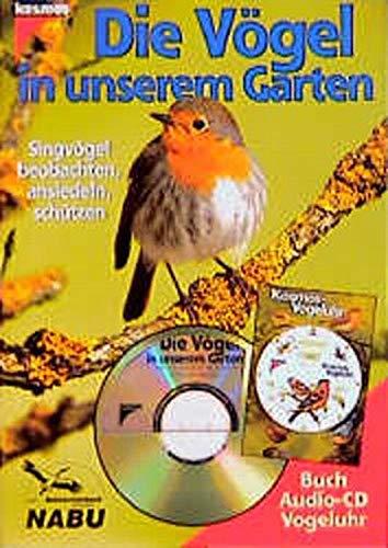 9783440076255: Die V�gel in unserem Garten, m. Audio-CD u. Kosmos-Vogeluhr