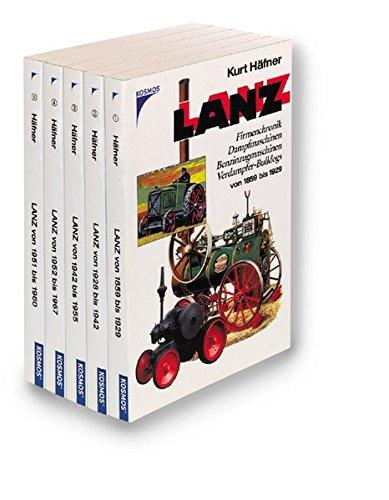 9783440090602: Die LANZ- Story von 1859 bis 1967. 5 Bde