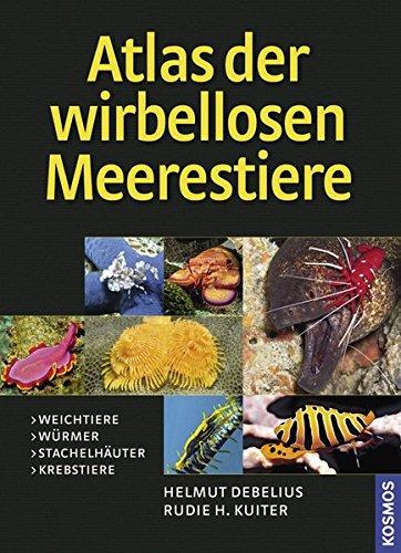 Atlas der wirbellosen Meerestiere: H. Debelius /