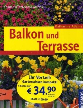 9783440110836: Kosmos Gartenbibliothek. 6 Bände