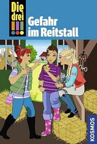 9783440114254: Die drei !!!. Gefahr im Reitstall: Detektivgeschichten für clevere Mädchen